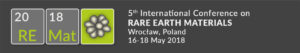 Remat2018Logo_5th International Conference on RARE EARTH MATERIALS