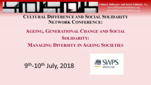 Age Difference And Social Solidarity SWPS
